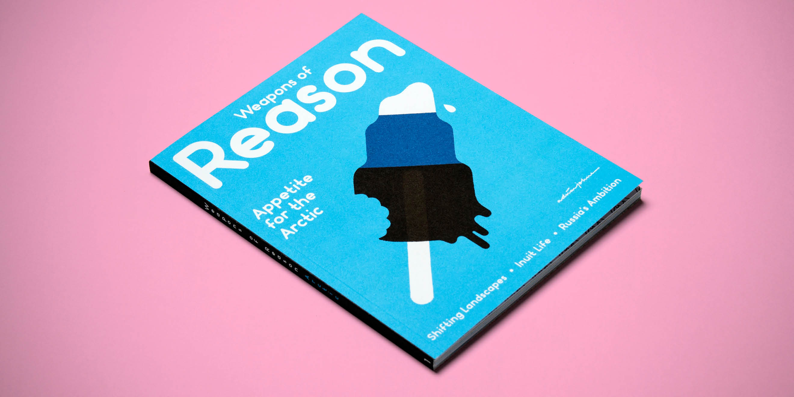 Weapons of Reason: The Arctic - the first issue of the self initiated magazine by Human After All design agency