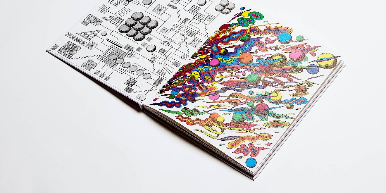 Page design from the Creativity issue of Google Think Quarterly