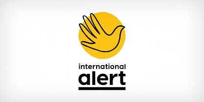 International Alert brand identity by Human After All design agency
