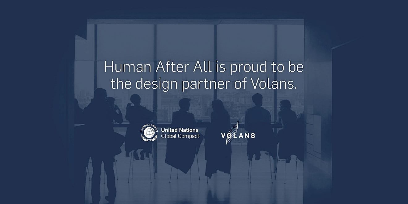Design agency Human After All is the design partner of Volans
