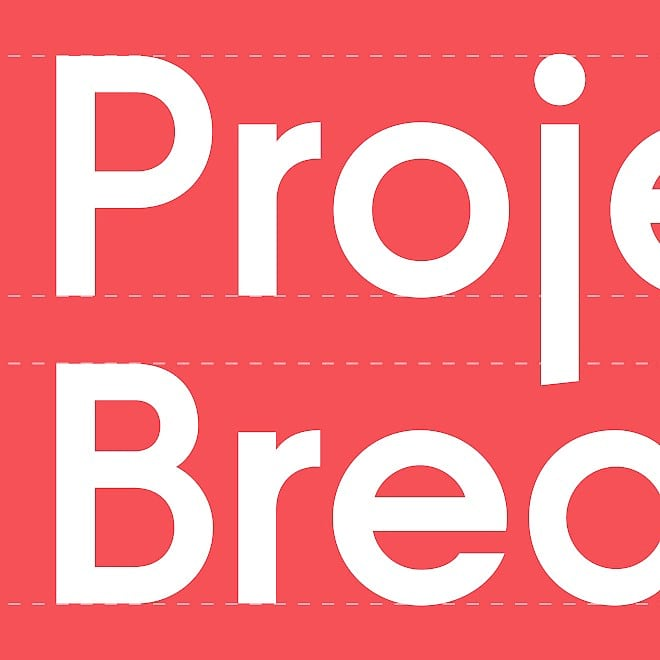 Project Breakthrough logo and visual identity guidelines