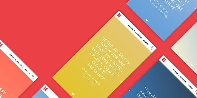 Canongate Books UX, website design & development by Human After All design agency