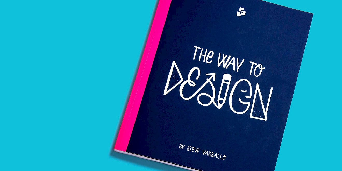 The Way To Design by Steve Vassallo book cover design
