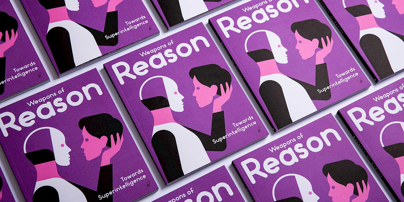 Weapons of Reason: The AI issue cover illustration by Rob Bailey
