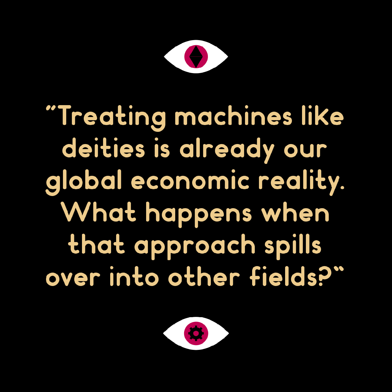 Quote from Weapons of Reason magazine: The AI issue
