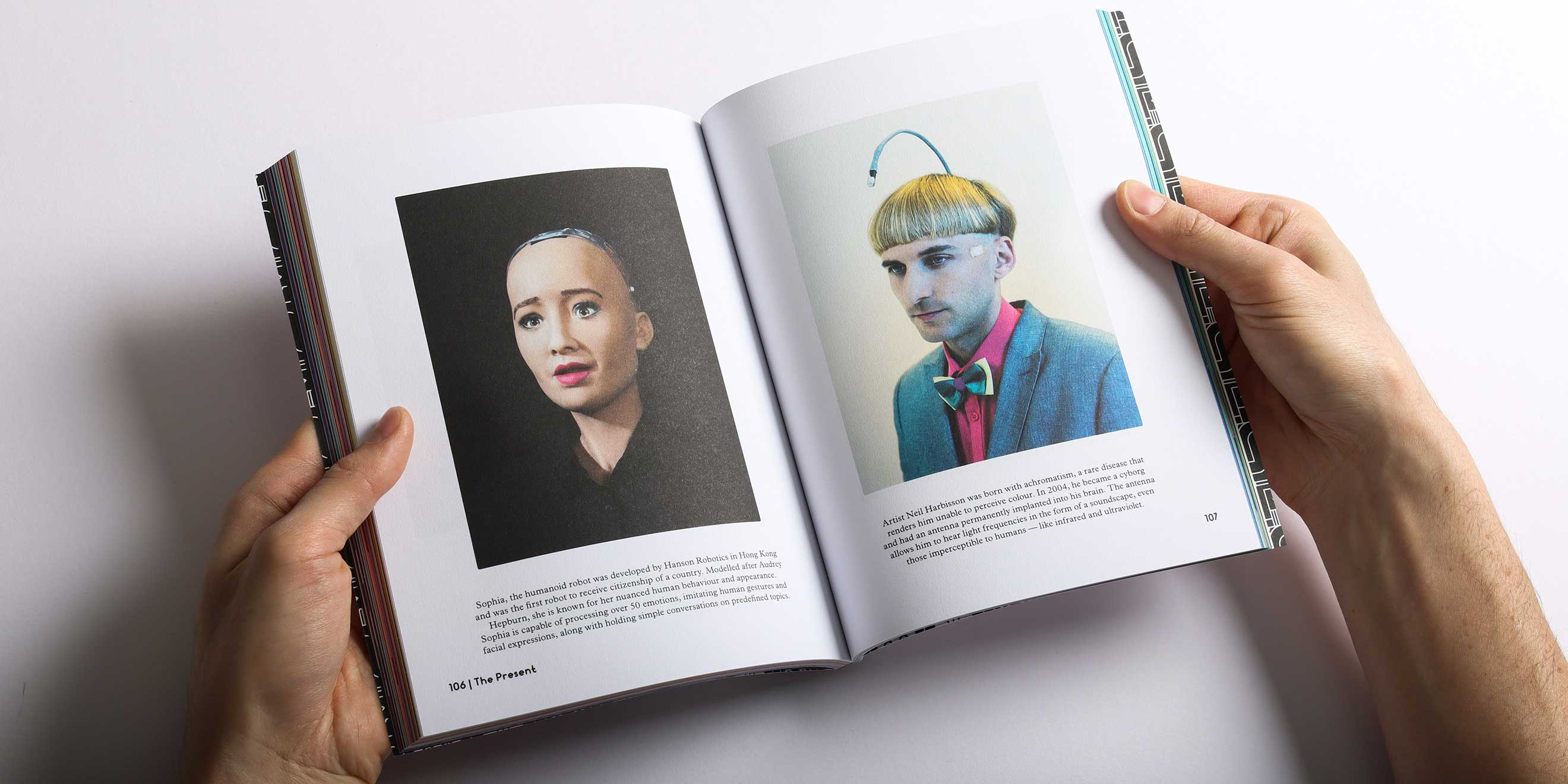 Transhumanism photo spread from Weapons of Reason magazine: The AI issue