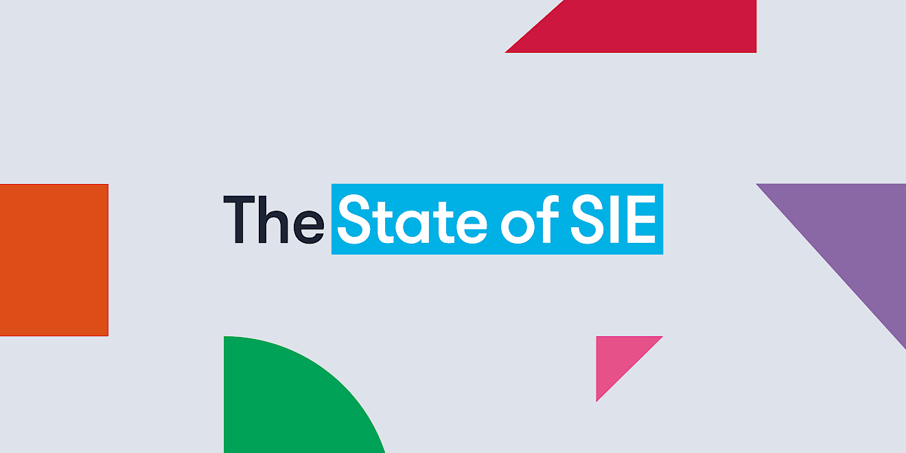 The State of SIE report by Human After All design agency